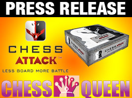 Kosteniuk becomes partner with Chess Attack