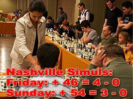 Alexandra played 2 simuls at the Supernationals in Nashville