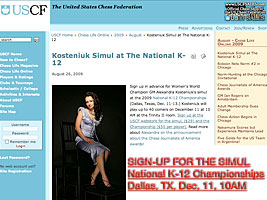 World Chess Champion and Chess Queen Alexandra Kosteniuk will give a chess simul in Dallas
