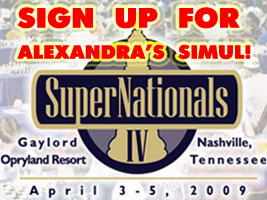 Sign up for Alexandra Kosteniuk's Simul at the SuperNationals in NAshville