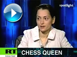 World Champion Alexandra Kosteniuk on Spotlight by Russia TV
