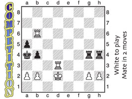 Solve this chess problem and you may win one of 10 books