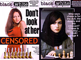 Indian Chess Magazine runs articles from Grandmaster Alexandra Kosteniuk