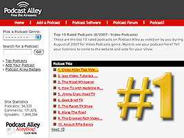the new chess video podcast chess  killer tips is voted Number 1 at Podcast Alley