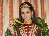 Nalchik 2008 Closing Kosteniuk World Champion