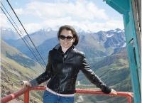 Kosteniuk tourism in Nalchik - Mount Elbrus