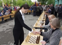 Record 56-board Simul in Lesnoi (Russia)