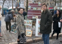 Alexandra is in Paris with Sergei Karjakin and his mother