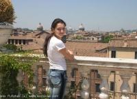 Alexandra visits Rome (Italy)