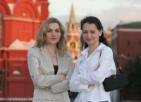 Alexandra and Almira Skripchenko in Moscow