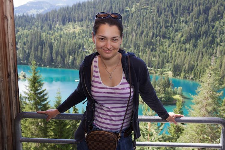 Chess Queen Alexandra Kosteniuk is in Switzerland