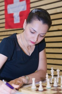 Chess Queen Alexandra Kosteniuk in Switzerland