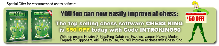 Chess King Chess Software is $50 off today