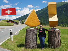 Chess Queen Alexandra Kosteniuk is in Switzerland
