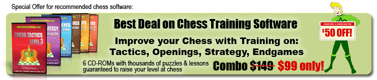 The best chess software Chess King combo
