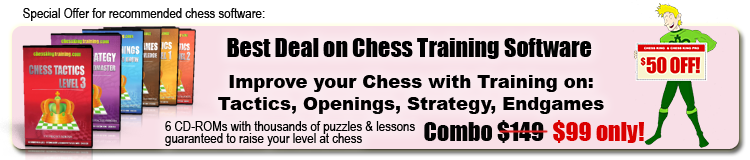 Best chess sofware Chess King Training combo