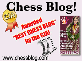 Chess Blog ChessBlog.com wins CJA Award for best blog of 2012