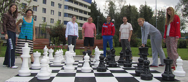 Russian Chess National Team for the 2012 Chess Olympiads in Istanbul