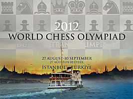 Chess Queen Kosteniuk will play the 2012 Istanbul Olympiads