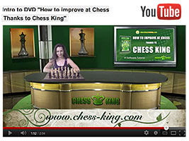 Chess Queen Alexandra Kosteniuk introduces Steve Lopez DVD on How to improve at chess thanks to Chess King