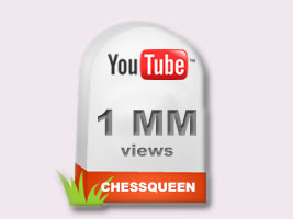 Chess Queen Alexandra Kosteniuk has a million views on YouTube
