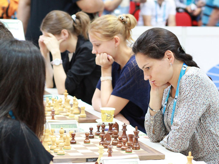 Chess Queen™ Alexandra Kosteniuk at the 2012 Istanbul Chess Olympiads