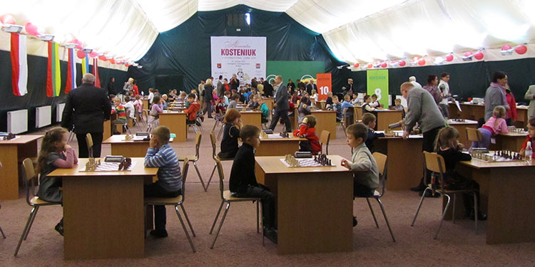 Chess Queen Alexandra Kosteniuk's Chess Cup 2012 in Svetlogorsk