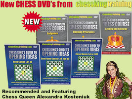 Chess King Training New DVD's