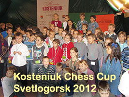 Alexandra Kosteniuk's Chess Cup in Svetlogorsk 2012
