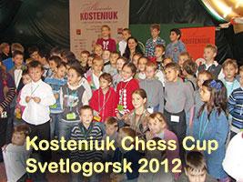 Alexandra Kosteniuk's Chess Cup in Svetlogorsk 2012