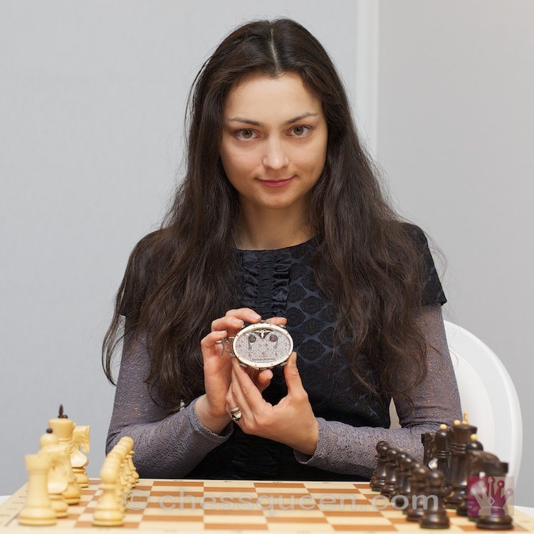 Chess Queen Kosteniuk and Gangi Watch