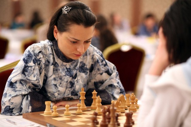 Chess Queen Alexandra Kosteniuk in Gaziantep
