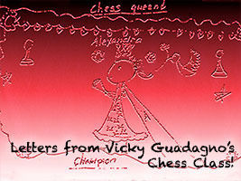 Chess drawing by Josephine Chan