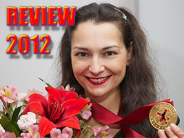 Chess Queen Alexandra Kosteniuk reviews 2012 performance