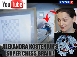 Super Brain of Chess Queen Alexandra Kosteniuk