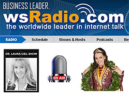 Chess Queen Alexandra Kosteniuk on the Dr Laura Ciel Radio Show