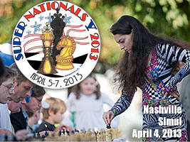 Chess Queen Alexandra Kosteniuk will play a simul in Nashville SuperNationals Tournament