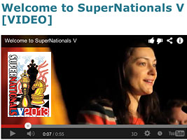 Video of the opening of the SuperNationals with Alexandra Kosteniuk
