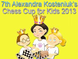 7th Alexandra Kosteniuk Chess Cup 2013 in Kaliningrad, Russia