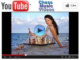 Chess Queen Alexandra Kosteniuk in music videos