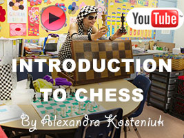 Kindergarten Chess Lesson by Chess Queen Alexandra Kosteniuk