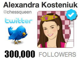 Chess Queen Alexandra Kosteniuk Verified on Twitter
