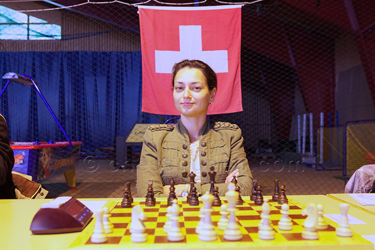 Alexandra Kosteniuk wins the Swiss national championship