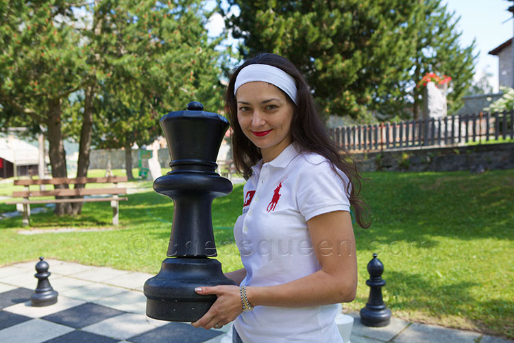 Alexandra Kosteniuk wins the Swiss Chess Championship in Grächen