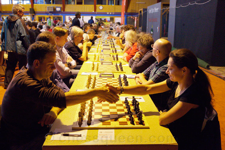 Alexandra Kosteniuk won the Swiss National Chess Championship