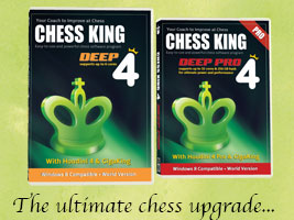 Chess King 4 with Houdini 4 announced