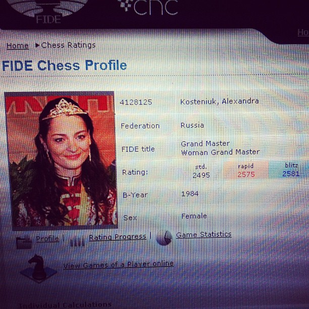 Chess Queen™ Alexandra Kosteniuk