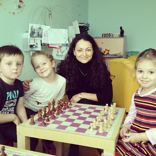 Alexandra Kosteniuk Chess School in Moscow