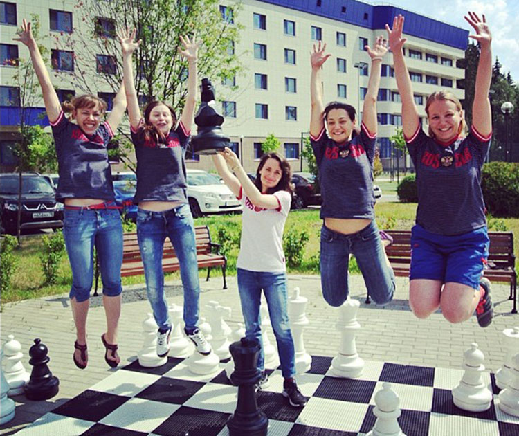 Russian Women's Team for Tromsø 2014 Chess Olympiads